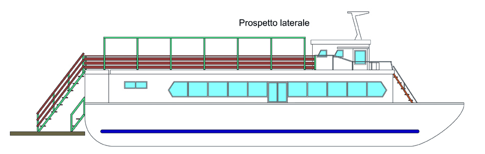 Barcone - Prospetto laterale WEB